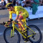 La bicicleta Colnago con Campagnolo de Pogacar