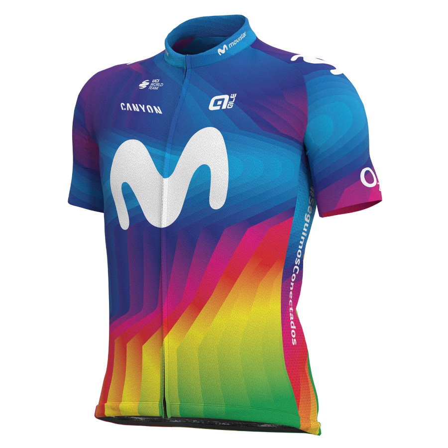 Alé Movistar maillot colores
