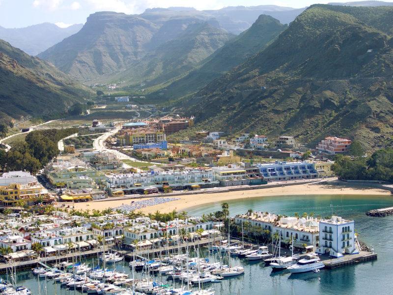 Puerto, Playa y Valle de Mogán