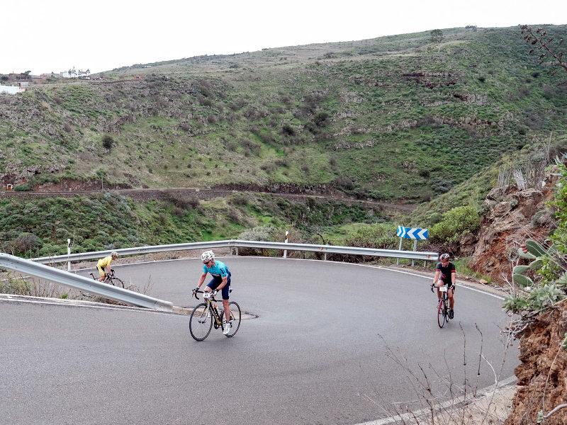 Pico de las Nieves cicloturismo