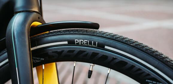 Pirelli CYCL-e WT, el neumático de invierno para bicicleta