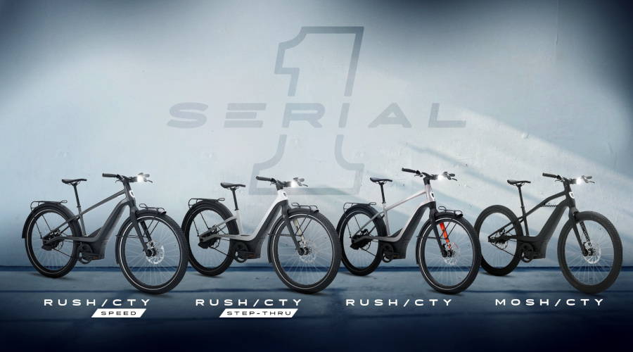 Serial 1 bicycles
