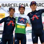 El INEOS Grenadiers de Yates arrasa en la Volta a Catalunya