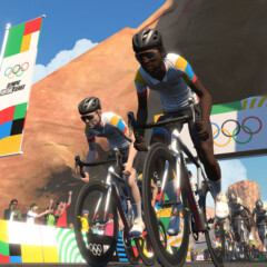 Las Olympic Virtual Series de ciclismo llegan a Zwift