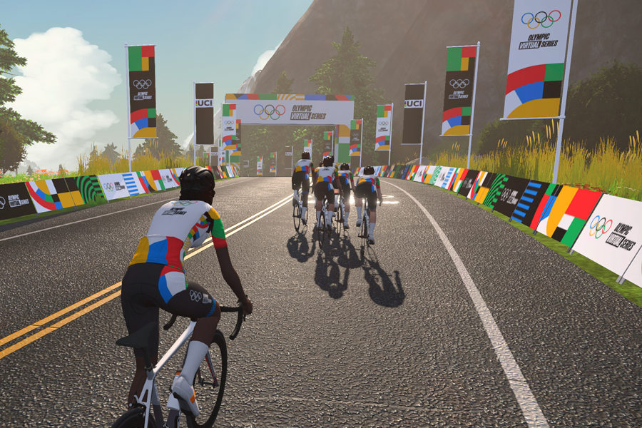 Olympic Virtual Series ciclismo