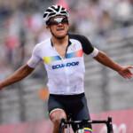 ¡Carapaz, campeón olímpico en Tokio 2020!