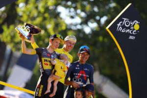 Tour de Francia 2021 podio