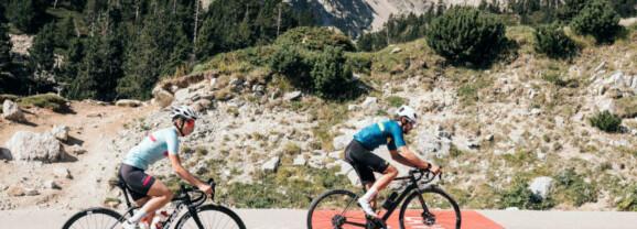 El cicloturismo toma el Pirineo catalán