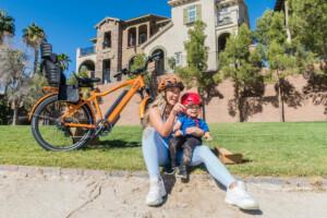 En bici con tu hijo