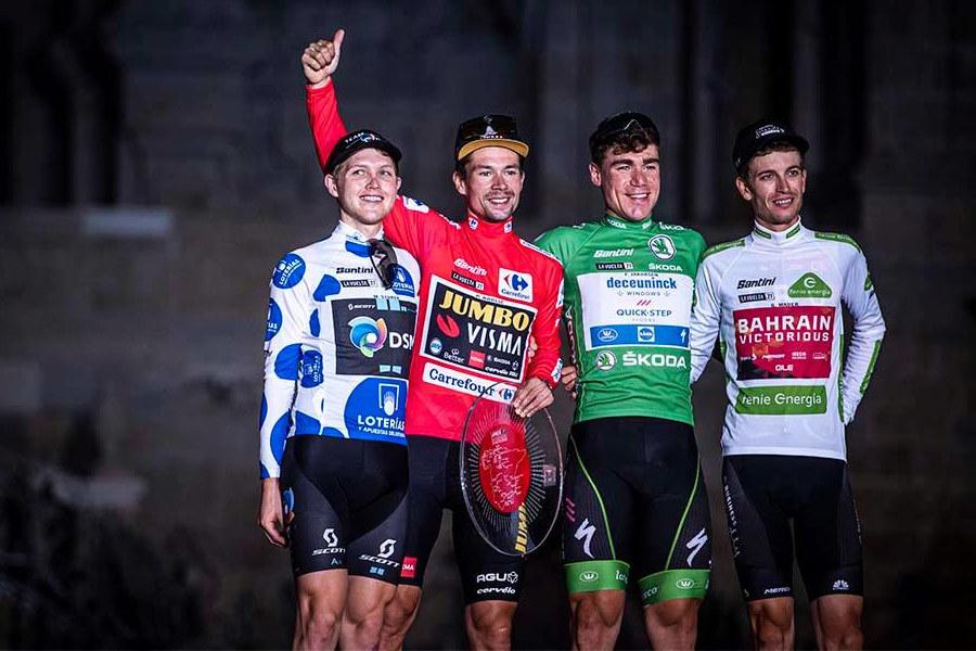 Maillots La Vuelta 2021