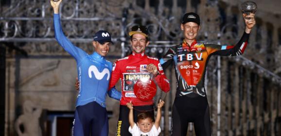 Triplete de Roglic en La Vuelta a España