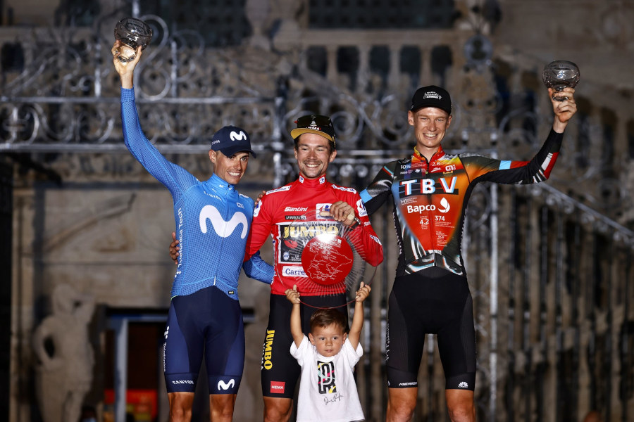 Podio La Vuelta 2021